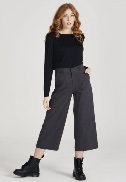 Givn: Modell 'Brina Trousers - Dark Grey'