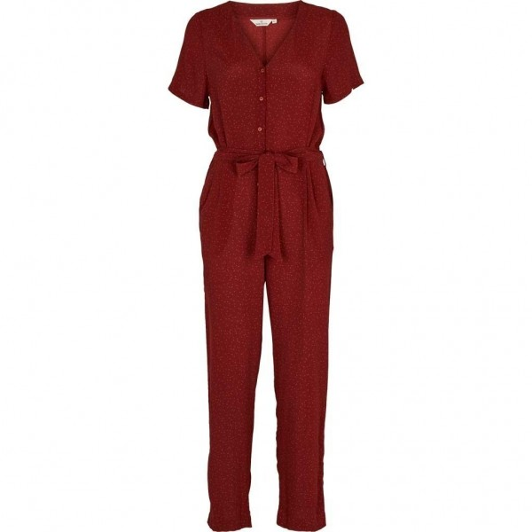 Anja Jumpsuit - Russet Red