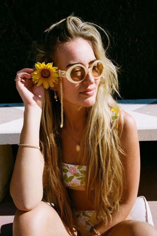 Coco Bonito: Modell 'Pastella Yellow Sunnycord - Gold'