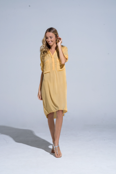 Buddha Wear: Modell 'Marbella Beach Tunic - Sunshine'