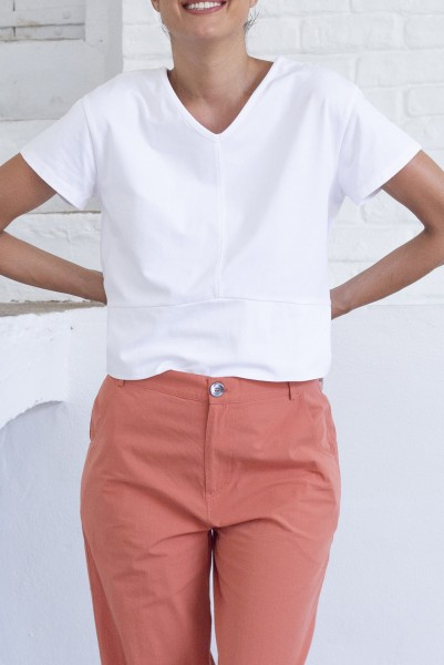 Suite 13: Modell 'Esmara Top - White'
