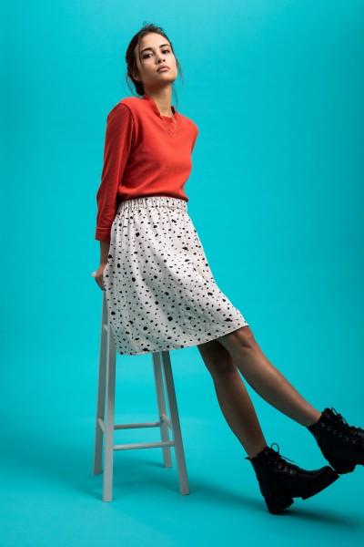 [eyd]: Modell 'Shirt Kaju - Ziegelrot'