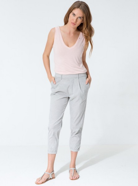 Saskia Pants - Light Vintage Grey