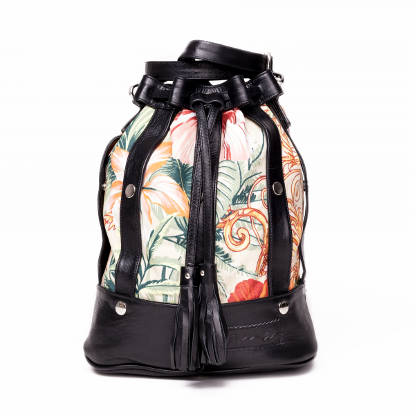The Statement Thing: Modell 'Sama Bag - Hibiscus'