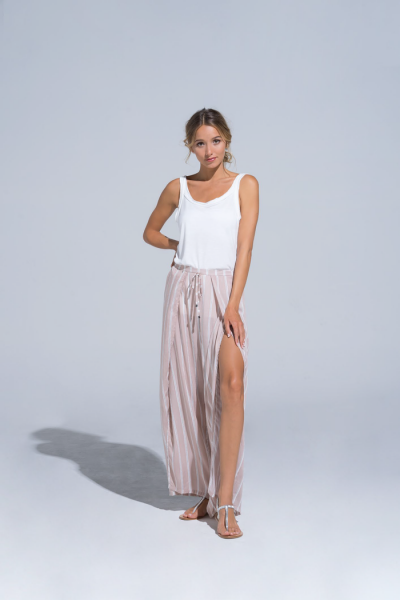 Buddha Wear: Modell 'Leandra Long Pants - Rose'