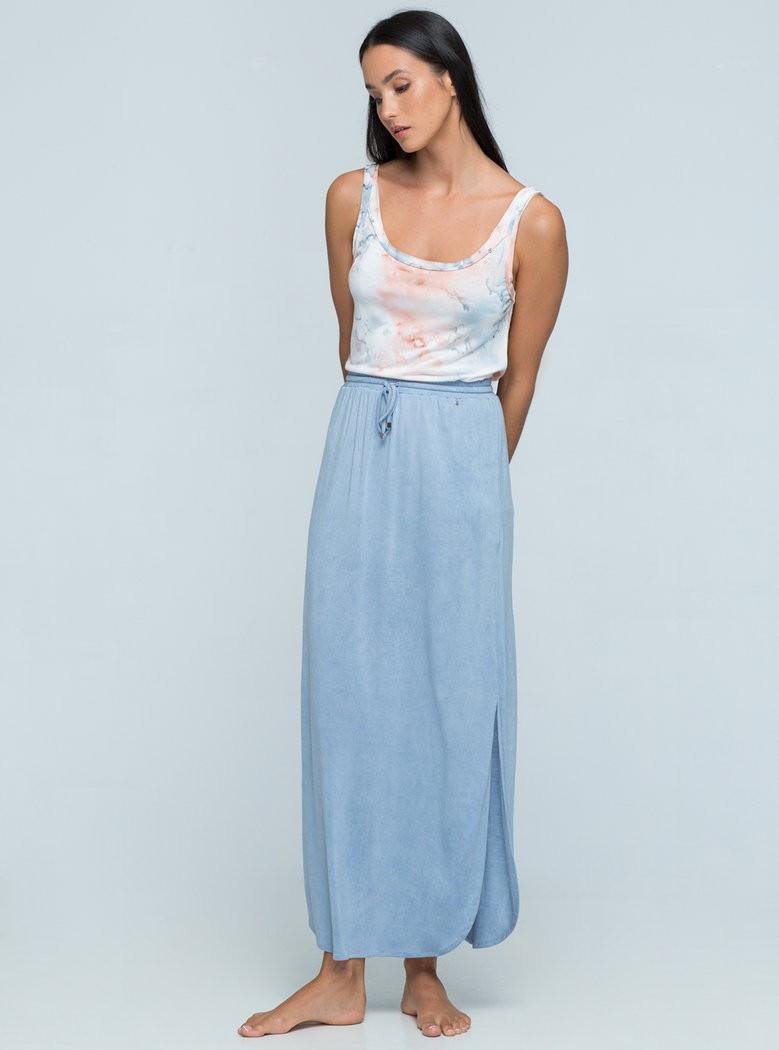 Buddha Wear: Modell 'Paige Skirt - Light Vintage Blue'