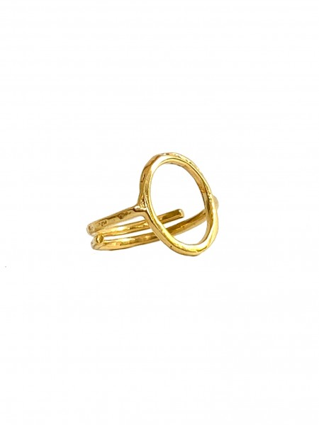 Ibu Jewels: Modell 'Ring Circle - Gold'