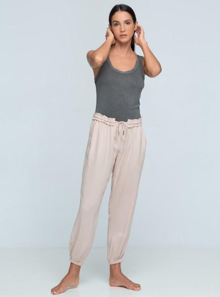Buddha Wear: Modell 'Jamie Long Pants - Rose'