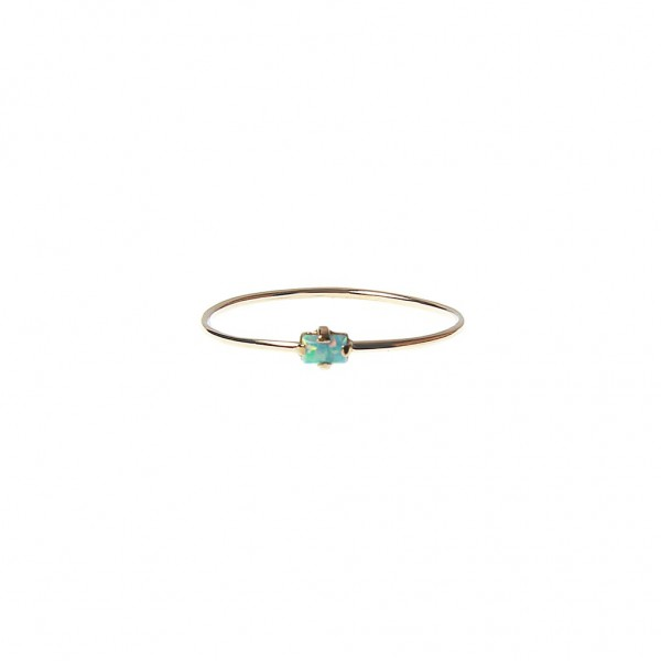 epic: Modell 'Blue Opal Ring - Gold'