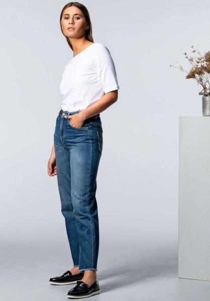 Lovjoi: Modell 'Straight Medlar Jeans - Middark Blue'