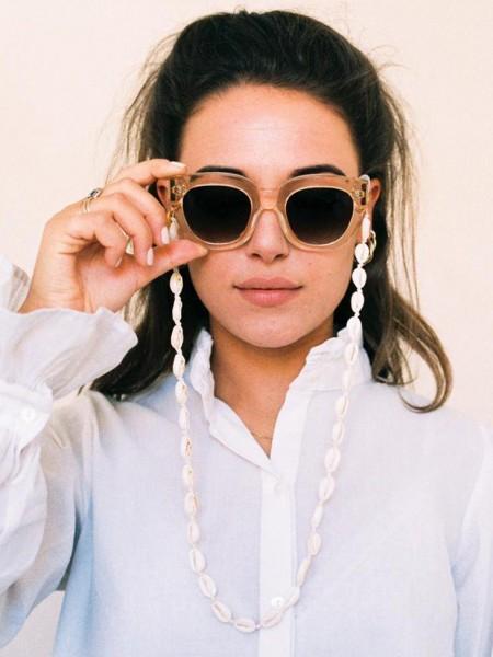 Coco Bonito: Modell 'Shell Sunnycord - Gold'