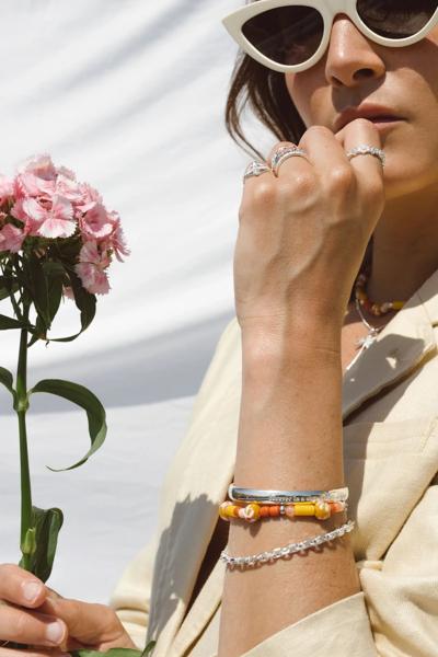 Wildthings: Modell 'Sunshine Bracelet - Silver'