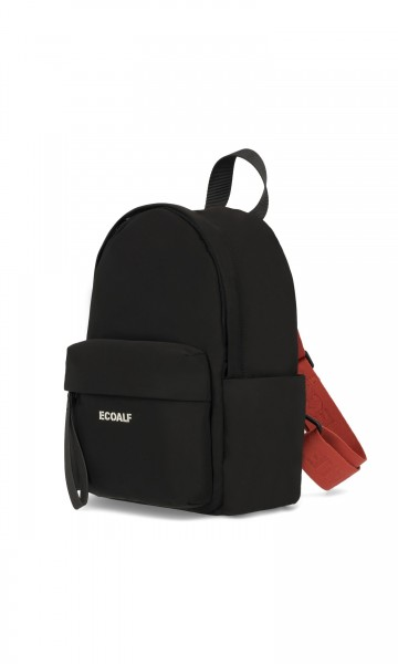 Ecoalf: Modell 'Mini Oslo Backpack - Black'