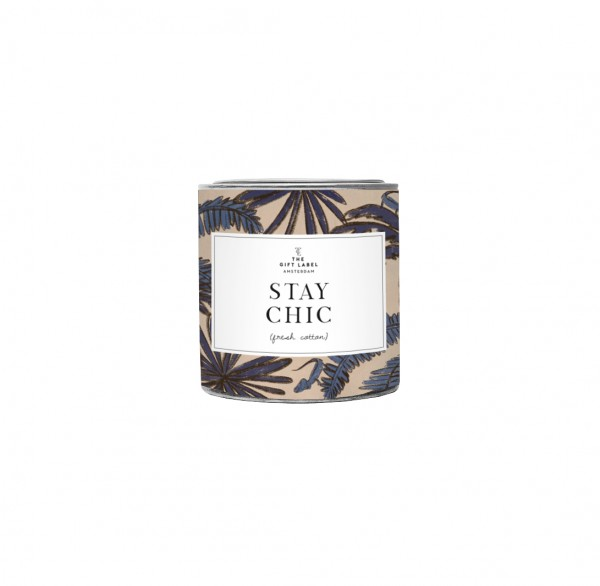 The Gift Label: Modell 'Candle - Stay Chic '