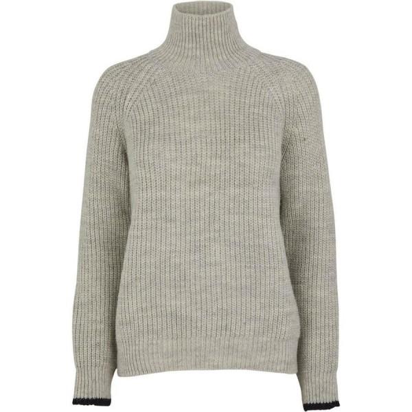 Pernille Pullover - Light Grey Melange