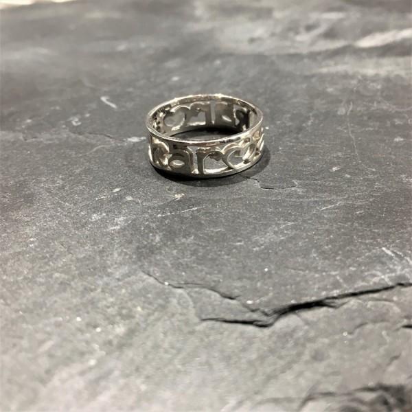 Santi Santi: Modell 'Kuna Karma Ring - Silver'