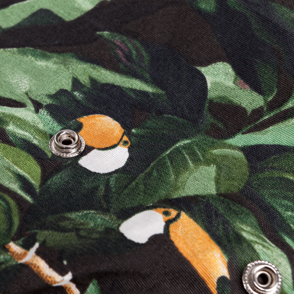 The Statement Thing: Modell 'Sama Inside Bag - Tucan Jungle Green'