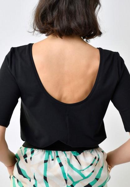 Lovjoi: Modell 'T-Shirt Hydrangea - Black'