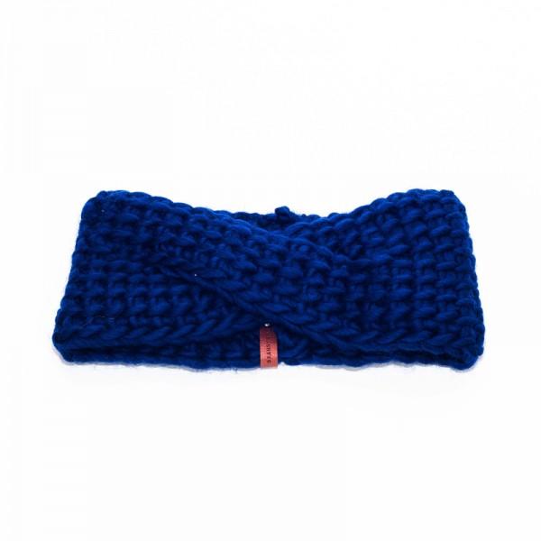 Granny's Finest: Modell 'Roos Stirnband - Marineblau'