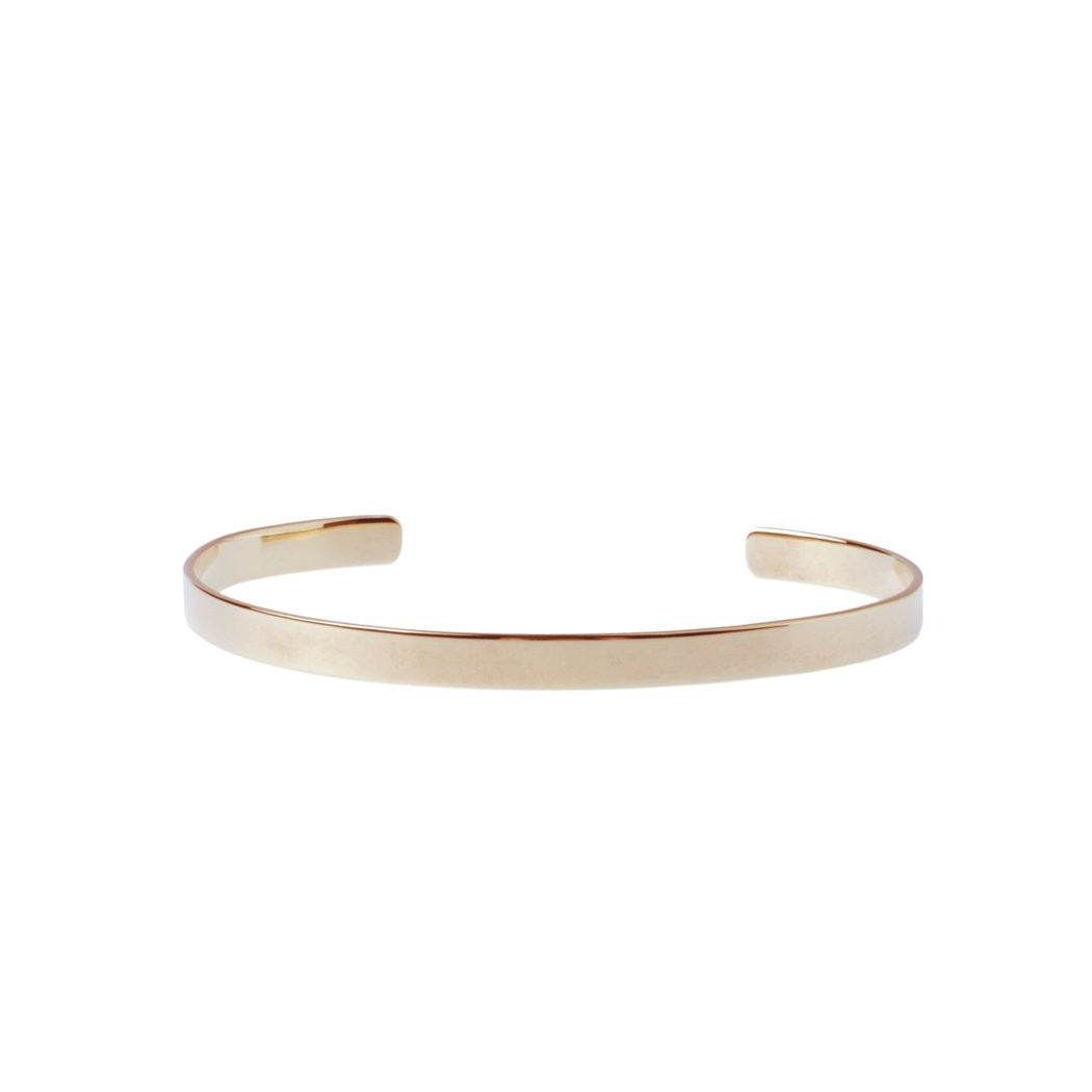 epic: Modell 'Less is more Cuff XS - Gold'