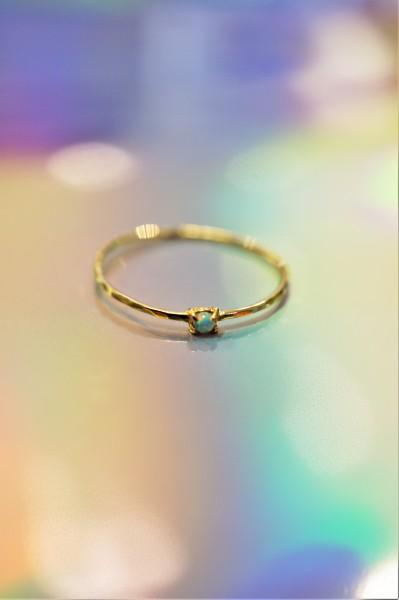 epic: Modell 'Opal Dot Ring - Gold'