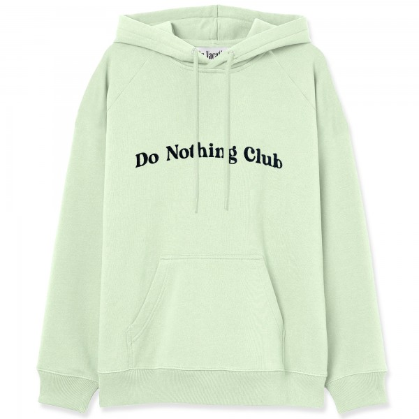 On Vacation: Modell 'Bubbly Do Nothing Club Hoodie - Pistachio'
