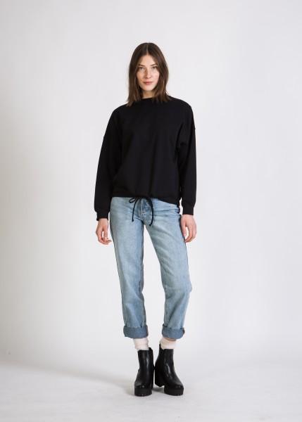 Stoffbruch: Modell 'Chloe Sweater - Black'