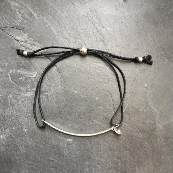 Melan Manis Bracelet - Silver