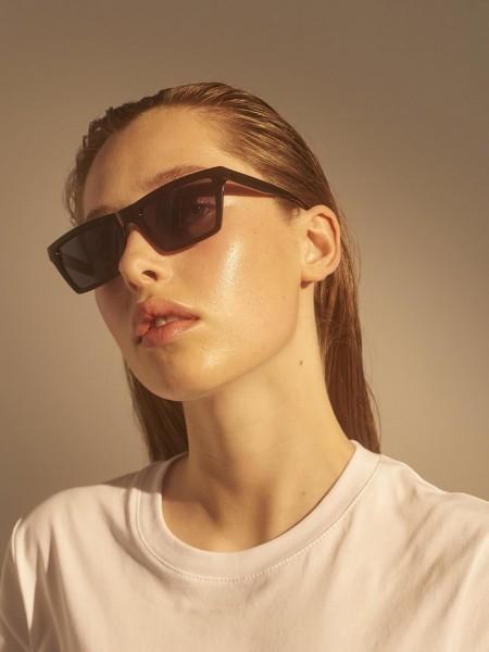 A.Kjærbede: Modell 'Clay Sonnenbrille - Black'