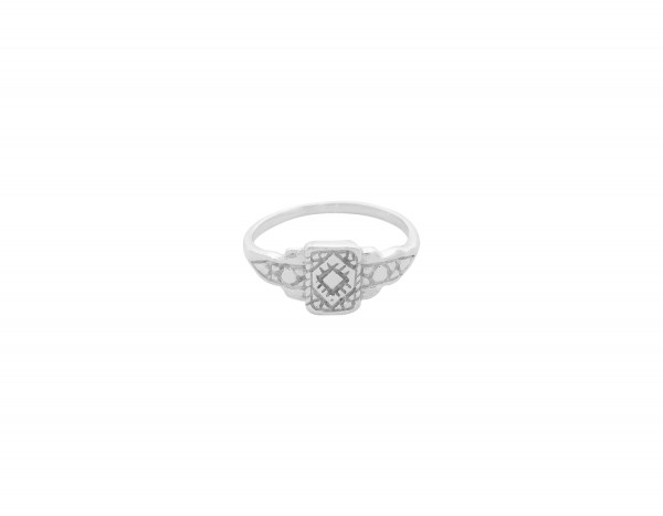 Flawed: Modell 'Art Deco Ring - Silber'