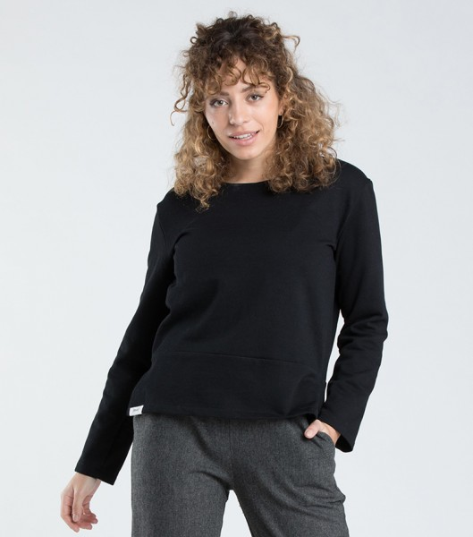 [eyd]: Modell 'Pullover Tulsi - Schwarz'