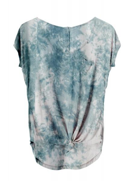 Buddha Wear: Modell 'Marlene Shirt - Smoked Blue'