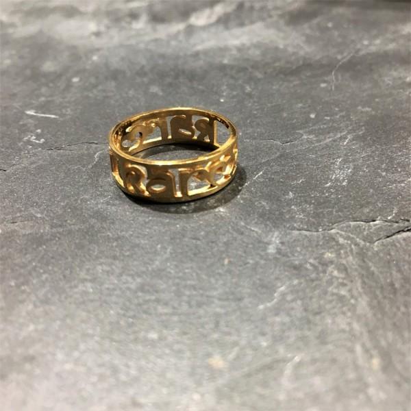 Santi Santi: Modell 'Kuna Karma Ring - Gold II'