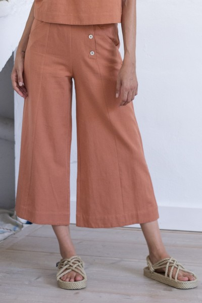 Suite 13: Modell 'Ederes Pants - Brandy'