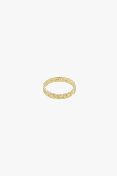 Wildthings: Modell 'Dots and Stripes Ring - Gold'