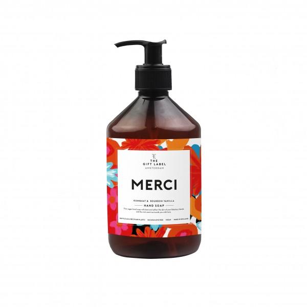 The Gift Label: Modell 'Handsoap - Merci '