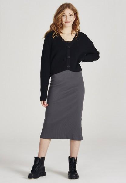 Givn: Modell 'Alisha Skirt - Shadow Grey'