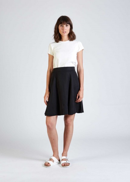 Givn: Modell 'Abby Skirt - Black (Tencel)'