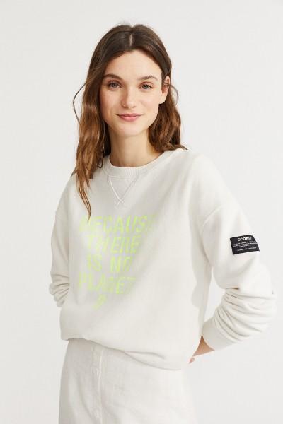 Ecoalf: Modell 'Because Sweatshirt - Antarctica'