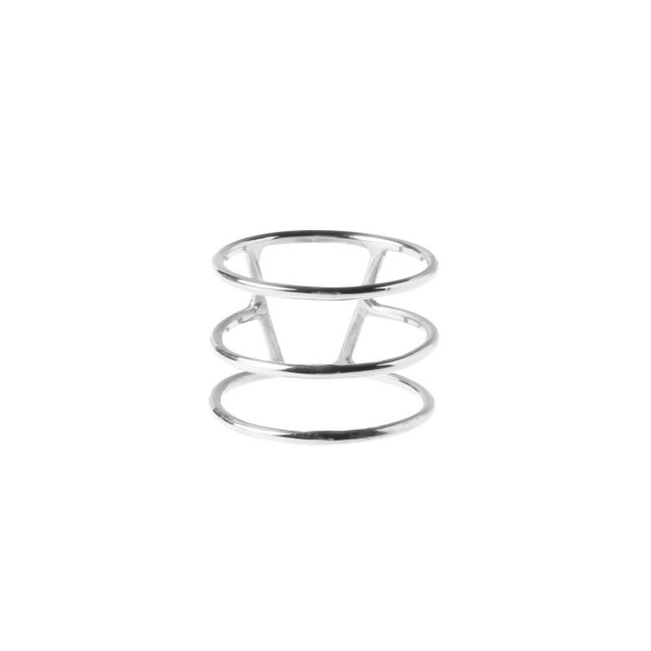 epic: Modell 'Silver Stripe Triple Ring - Silver'