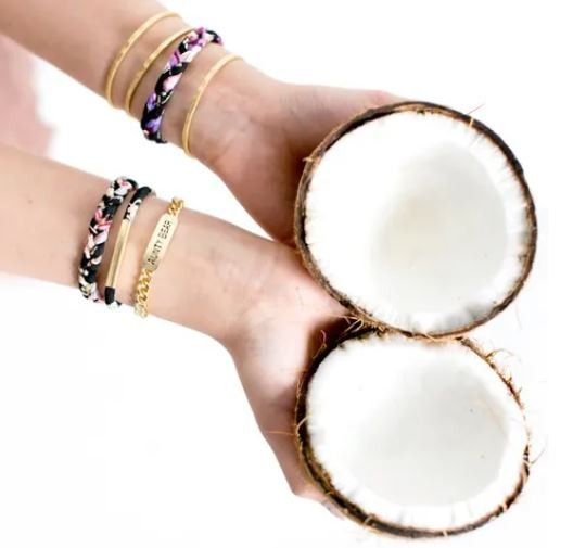 Sugar Blossom: Modell 'Aunty Bear Armband - Gold'
