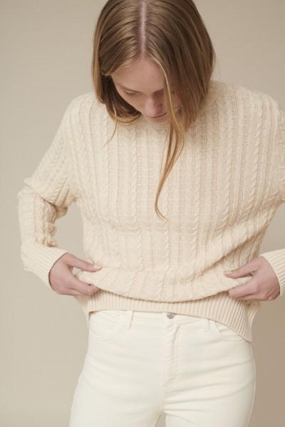 Basic Apparel: Modell 'Gitte Sweater - Birch'