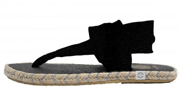 Nalho: Modell 'Ganika - Cotton Glitter Color - Black'