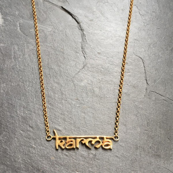 Santi Santi: Modell 'Kali Karma Necklace - Gold II'