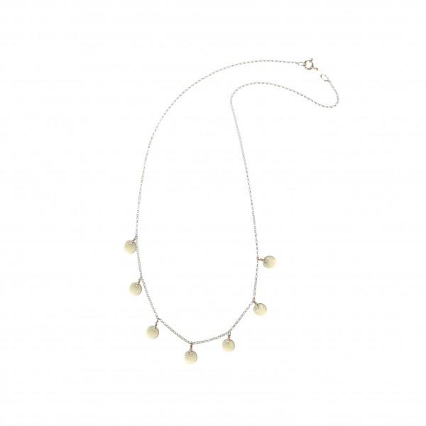 epic: Modell 'Boho Disc Necklace - Gold'