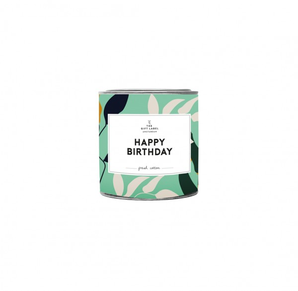 The Gift Label: Modell 'Candle - Happy birthday'