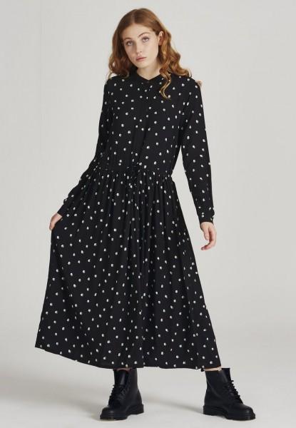 Givn: Modell 'Marina Dress - Black / Mint / Off White'