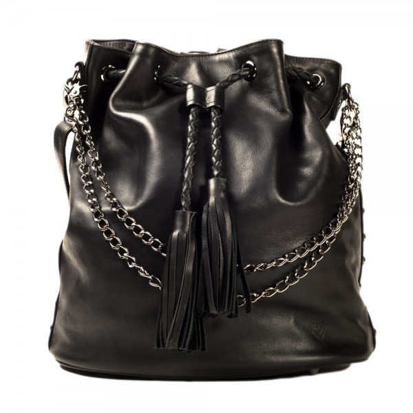 The Statement Thing: Modell 'Bagpack Statement 2.0 - Black Rivet'