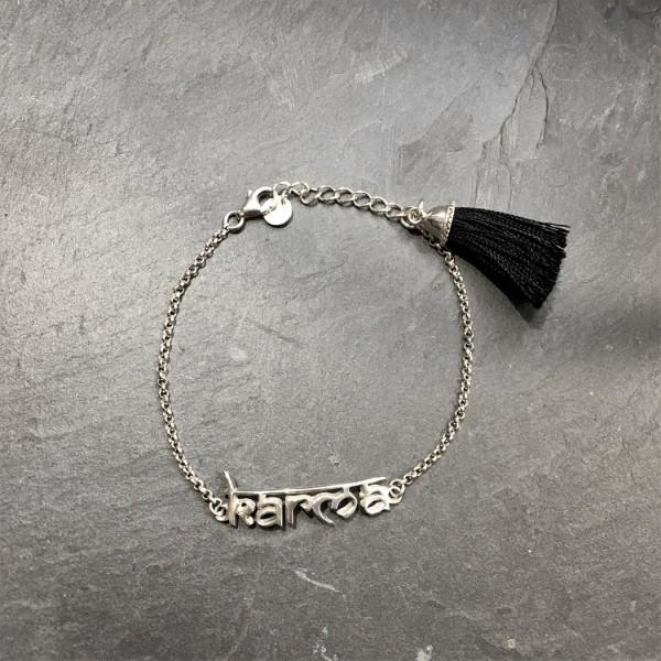 Kata Karma Bracelet - Silver