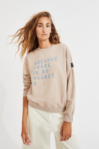 Ecoalf: Modell 'Cervino Sweatshirt - Beige'